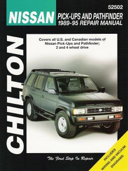 1989 1995 nissan pick ups and pathfinder chilton 39 s total car care manual. Black Bedroom Furniture Sets. Home Design Ideas