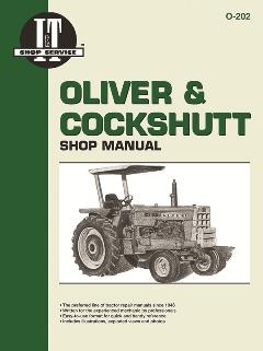 oliver and cockshutt i t tractor service manual o 202. Black Bedroom Furniture Sets. Home Design Ideas
