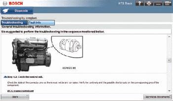 heavy truck scan tool otc-3824 bosch