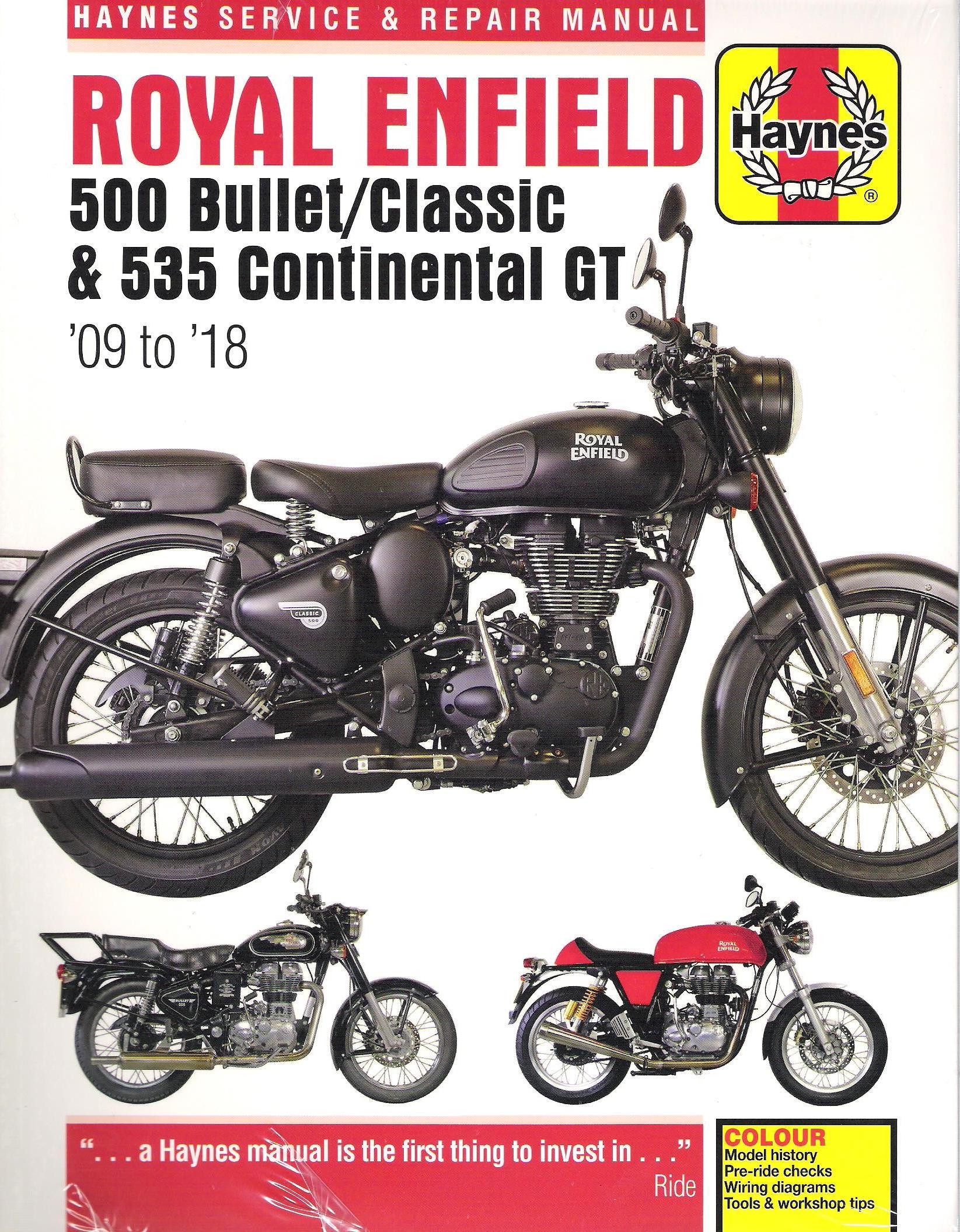 Clymer Motorcycle Repair Manual 260-3