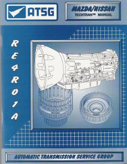 atsg mazda gf4ael gf4eat techtran transmission rebuild manual 1993 1994