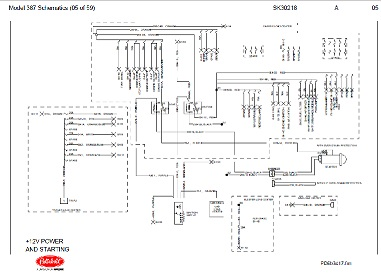 before oct 15 2001 peterbilt 387 truck complete wiring diagram schematic