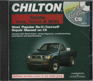 1983 2000 chilton s toyota cars  trucks   suvs repair cd rom 2980 X Weight System Manual Small Engine Rebuild Manuals