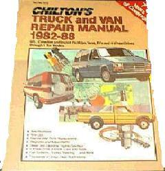 1982 1988 chilton s truck   van repair manual Manual Car Maintenance Manual