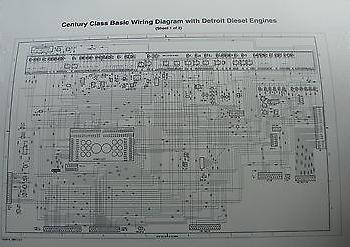 2000  Up Freightliner Century     Columbia    Class    Wiring