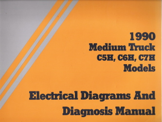 1990 GMC Topkickkodiak Medium C5h C6h C7h Models Electrical. 1990 GMC Topkickkodiak Medium C5h C6h C7h Models Electrical Diagnosis Wiring Diagrams. GMC. GMC Electrical Diagrams Locator At Scoala.co